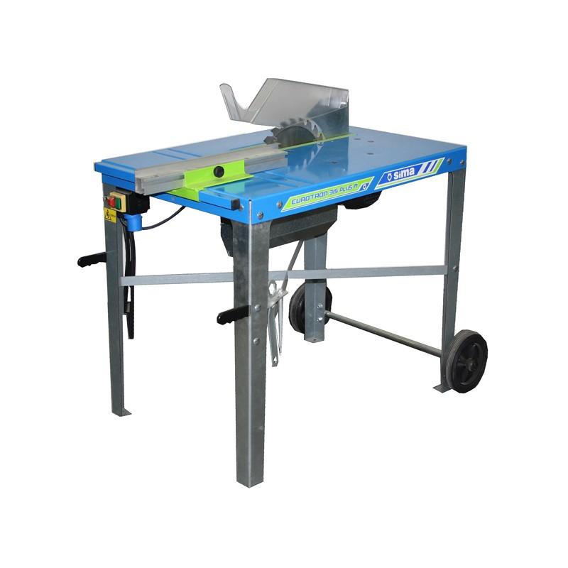 mesa de corte de madera sima eurotron 315 plus